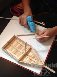 03 Assemble a Mast - Keri Lee Sereika popsicle stick crafts