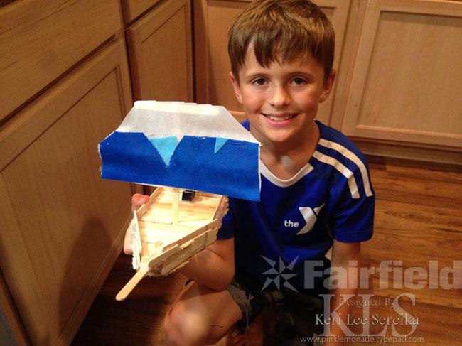 Oly Fun simple Sailboat as final step - Keri Lee Sereika