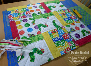 1254-Quilted Pillow