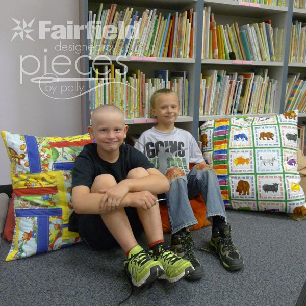 Library Reading Pillows