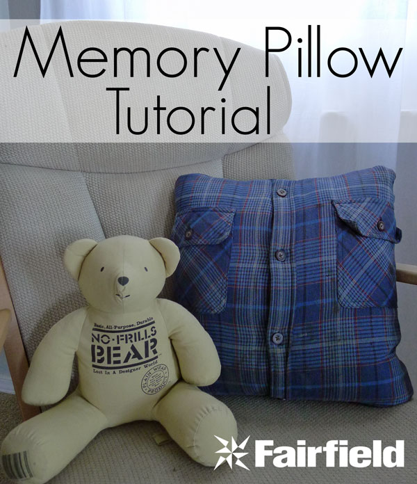 Memory Pillow Tutorial