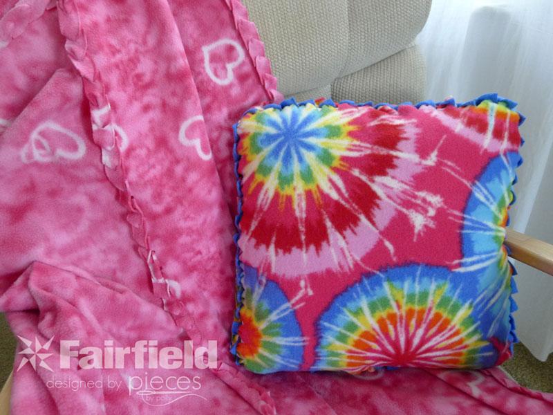 No-Sew Braided-Edge Fleece Pillow - Fairfield World Blog
