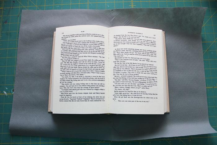 cut olyfun larger than the book