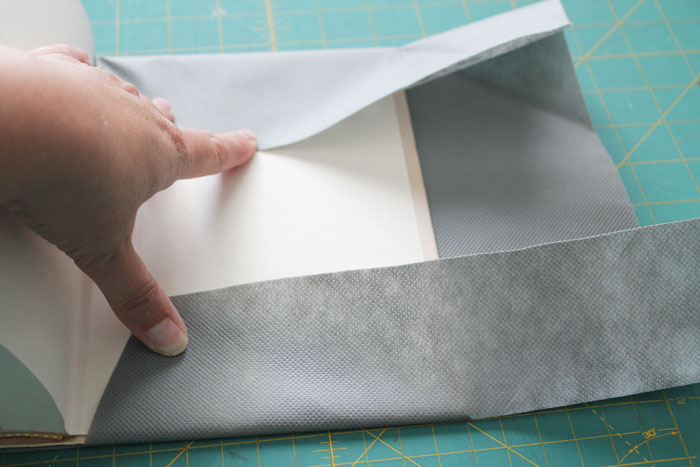 fold in sides