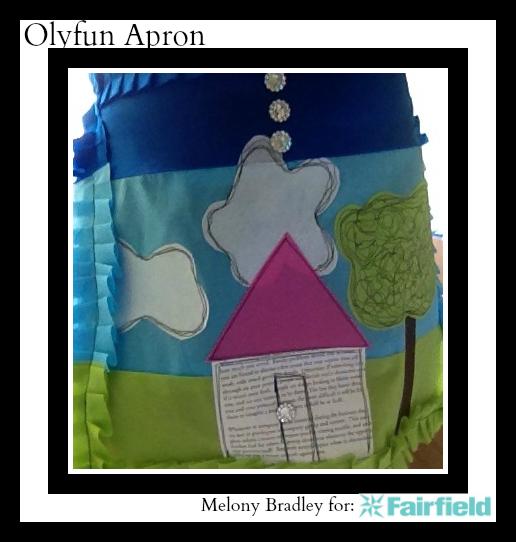 appliqued olyfun apron