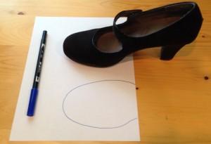 Creating your Shoe Stuffie custom pattern