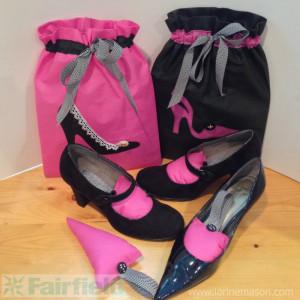 Matching Shoe Stuffies & Shoe Bags