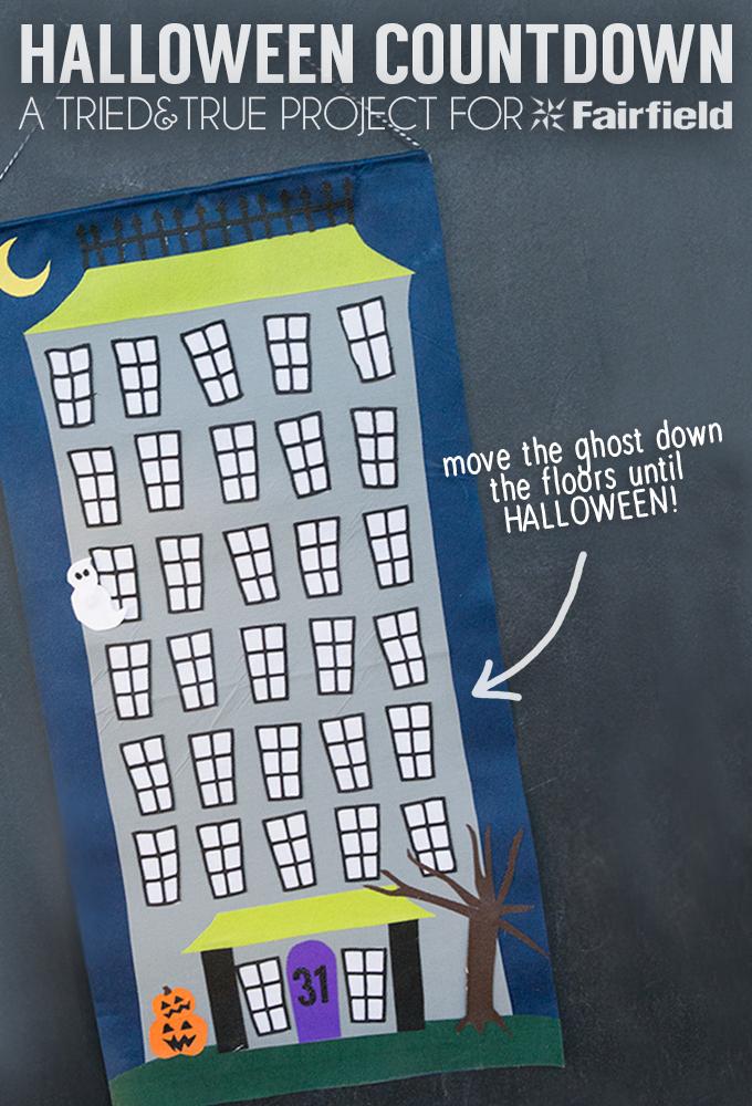 Halloween Countdown - Follow the ghost as he countsdown to Halloween day!