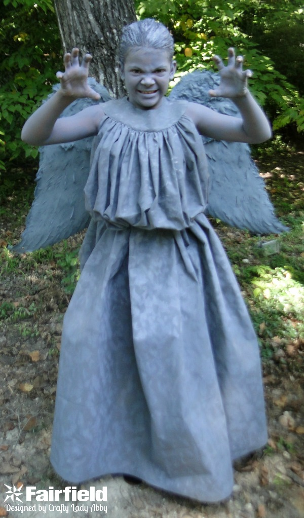 WEEPING ANGEL COSTUME - 1 FRONT