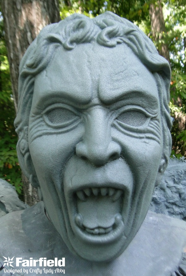 WEEPING ANGEL COSTUME - MASK