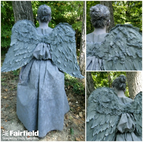 WEEPING ANGEL - WINGS Collage