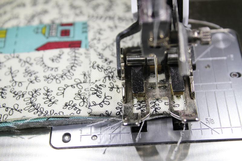 stitch to fold