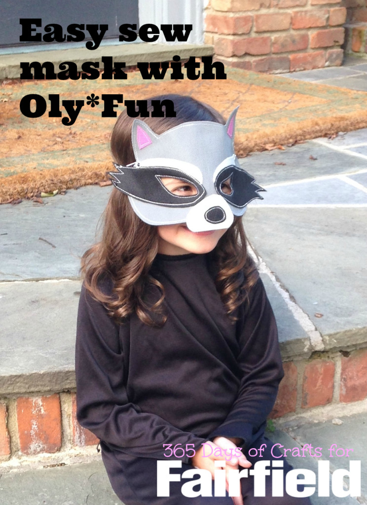 Raccoon mask olyfun