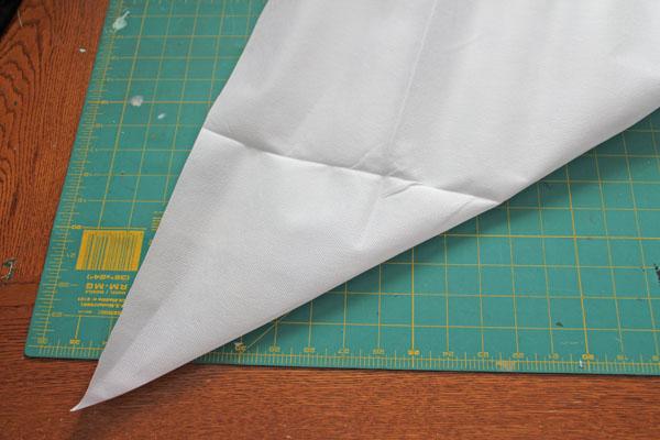 fold into half