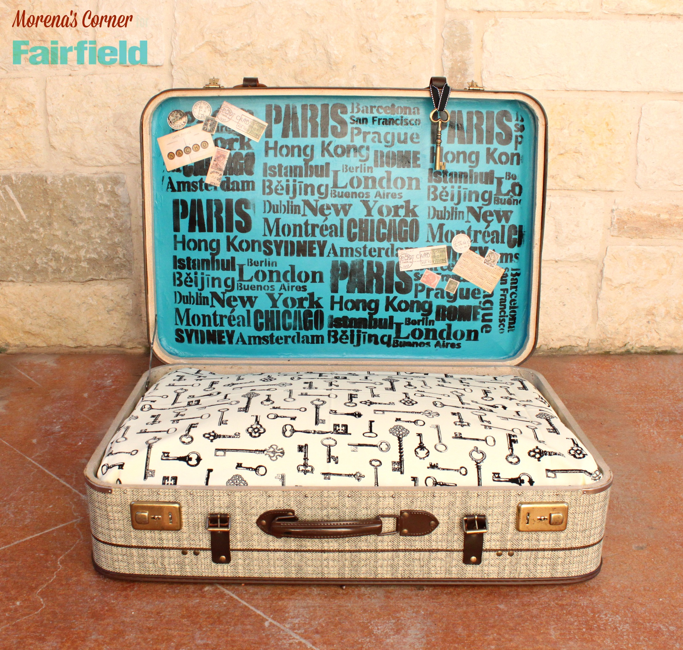 Turn A Suitcase Into A No Sew Diy Dog Bed Fairfield World Blog