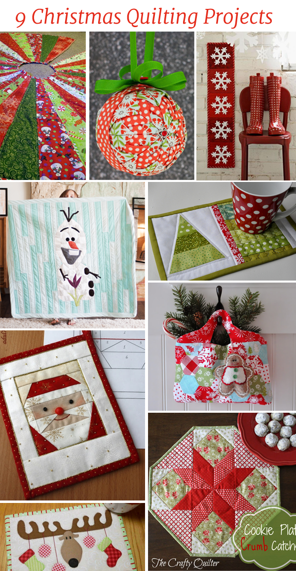 9 Christmas Quilting Projects