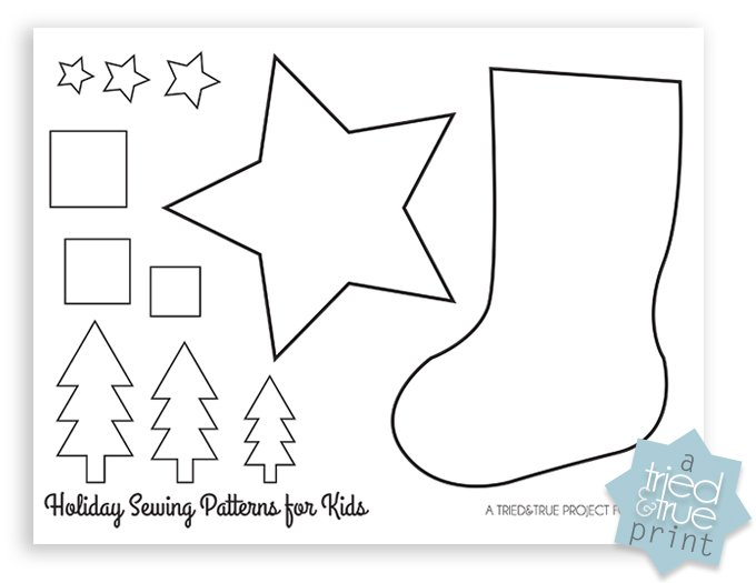 image regarding Printable Stocking Pattern titled rookie sewing behavior xmas stocking free of charge printable