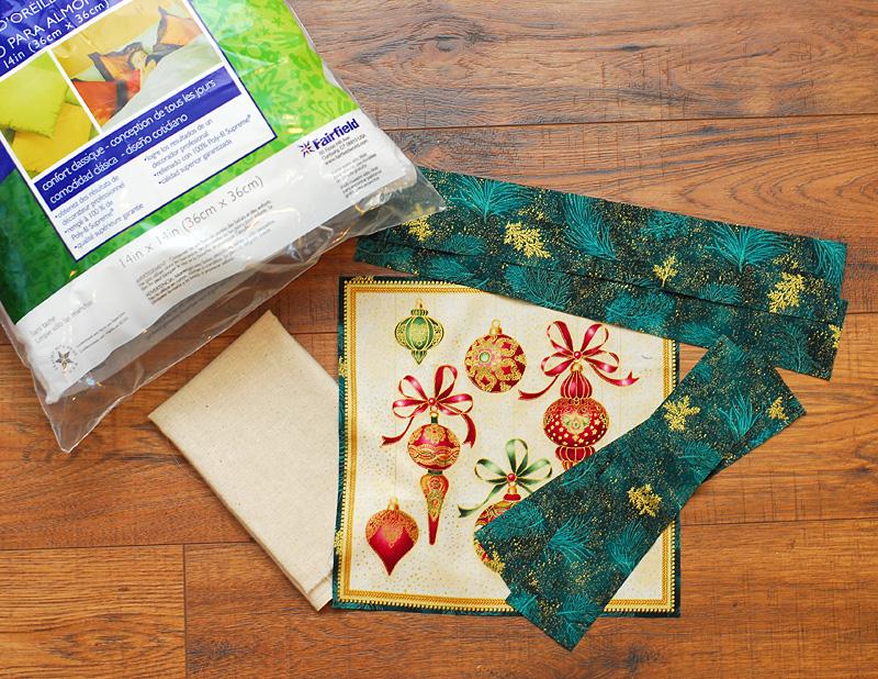 Pillow Supplies Needed - Keri Lee Sereika