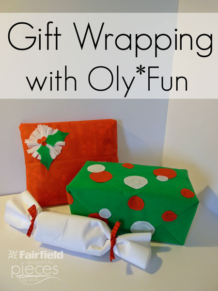 Gift Wrapping with Oly*Fun