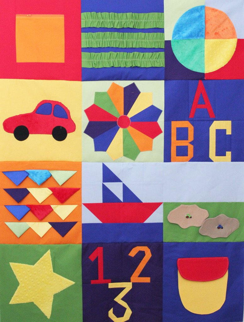 2015 farifield Baby Sampler Quilt BOM Block of the month