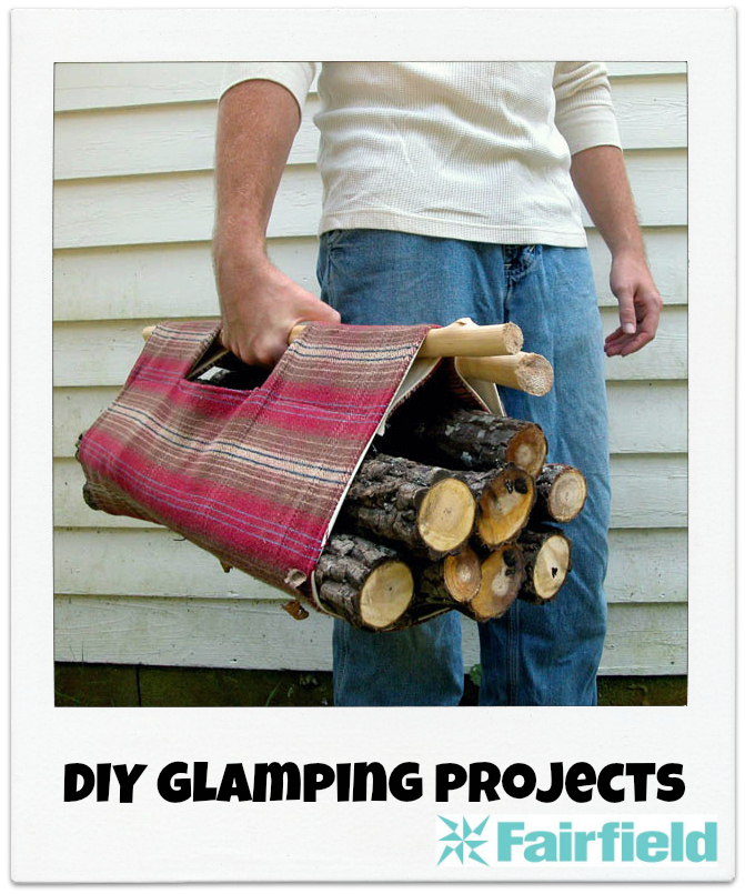 Diy glamping projects fairfield world blog for Glamping ideas diy