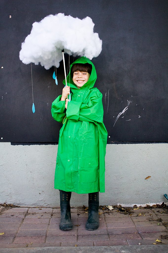Rain Cloud Halloween Costume - Ready to go!