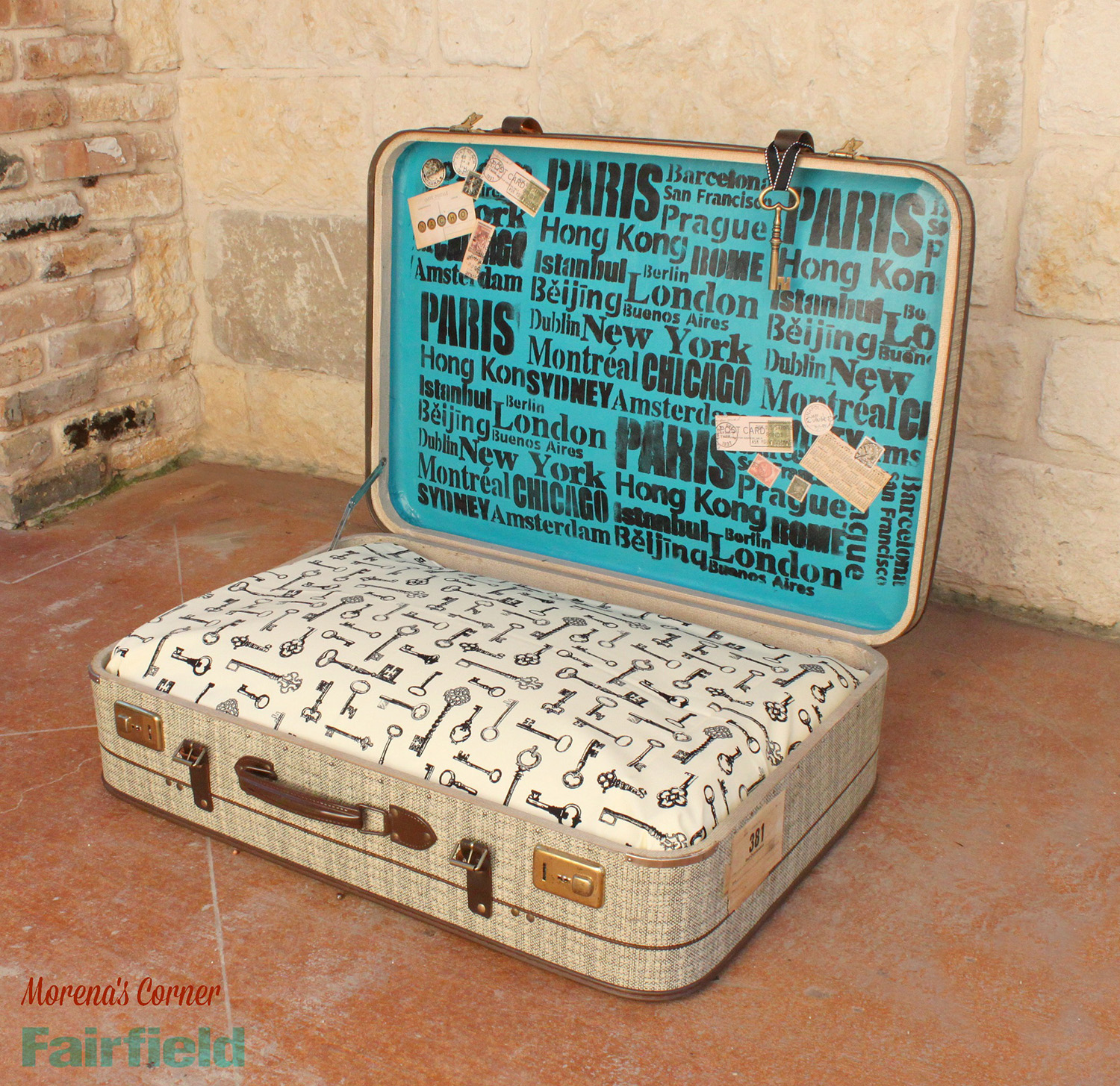 Diy Dog Bed Turn A Suitcase Into A No Sew Diy Dog Bed Fairfield World Blog