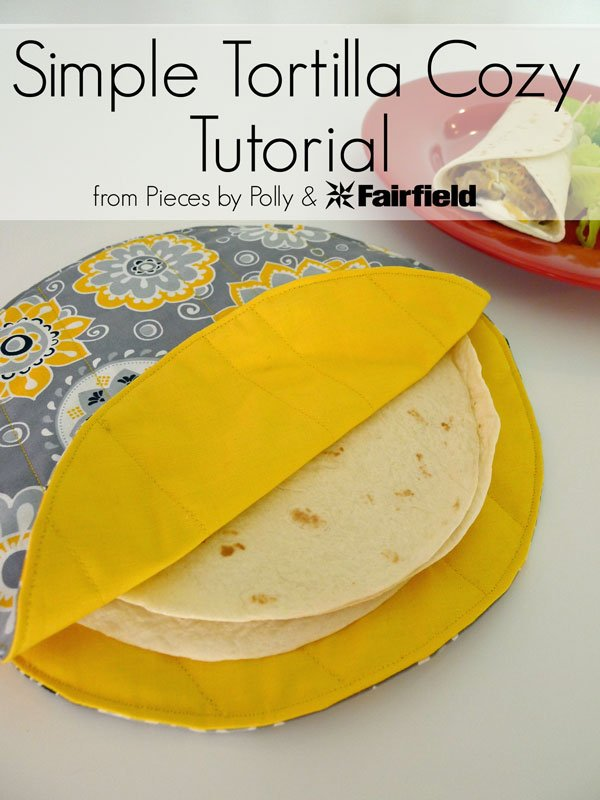 Simple Tortilla Cozy Tutorial